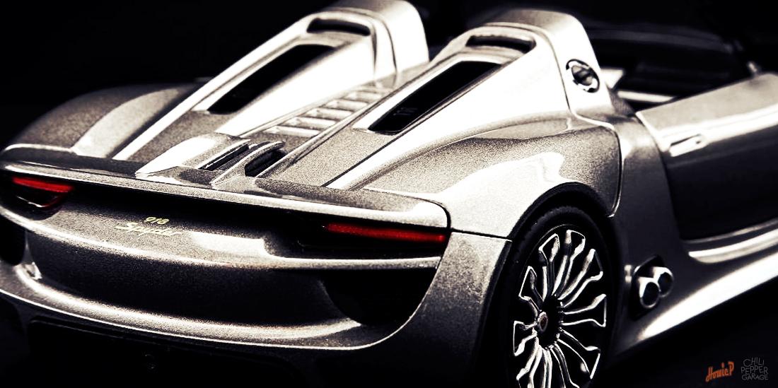 porsche 918 spyder chili pepper garage. Black Bedroom Furniture Sets. Home Design Ideas