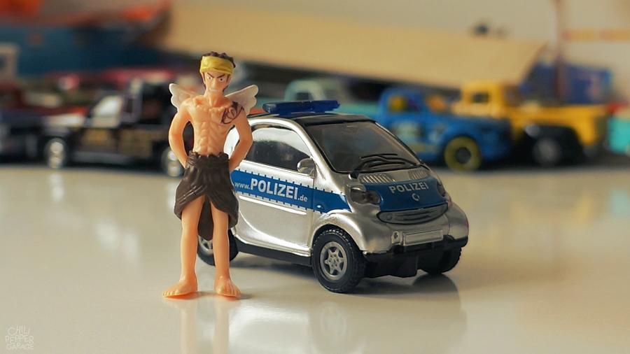 Smart-polizei-officer