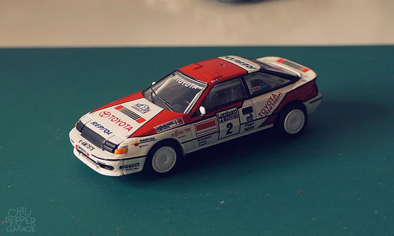 1988 Toyota Celica GT-Four ST165 (Toyota Europe team