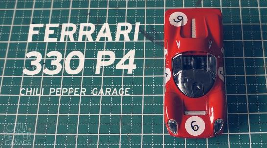 Ferrari 330-P4-cover