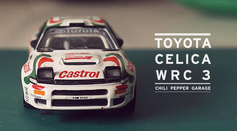 Toyota Celica WRC 3-cover